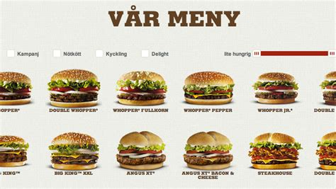 Fast food geography: Discover Sweden through Burger King