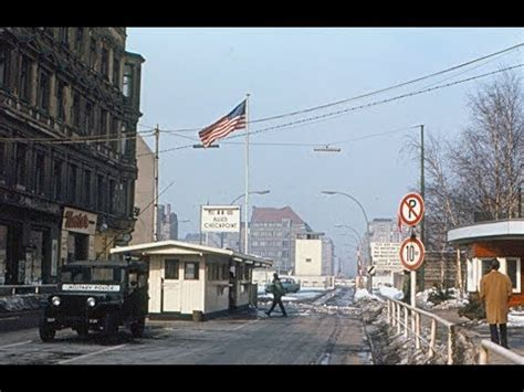 Checkpoint Charlie - Berlin's Cold War Frontier - YouTube