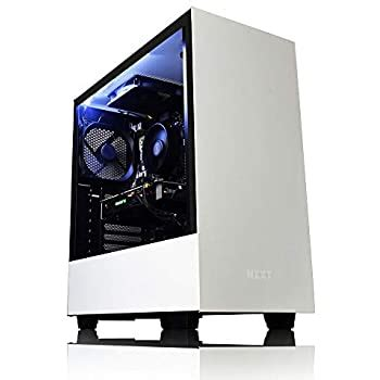 AWD-IT NZXT H500 White Gaming PC AMD FX-8350 8 Core CPU