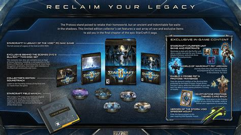 This is your StarCraft 2: Legacy of the Void Collector's