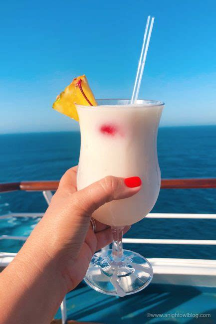 Best Drinks on Carnival Cruise Line - Pina Colada   A
