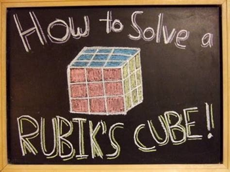 How to Solve a Rubik's Cube! - YouTube