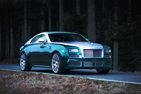 2014 Rolls-Royce Wraith By Mansory   Top Speed