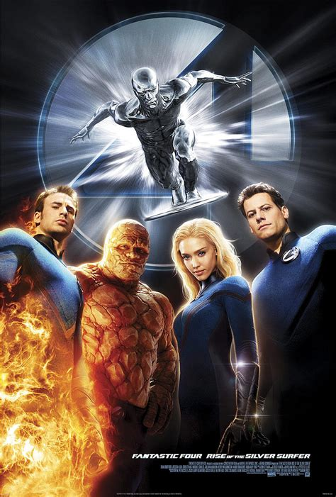 Fantastic Four: Rise of the Silver Surfer   Marvel Movies
