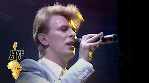 David Bowie - Heroes (Live Aid, 1985) - YouTube