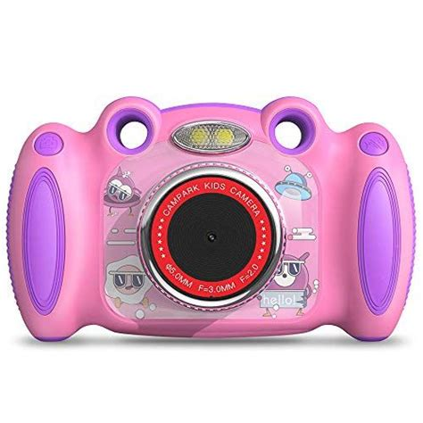 Campark Kids Camera for 4-8 Year Old Girl Gifts Front and