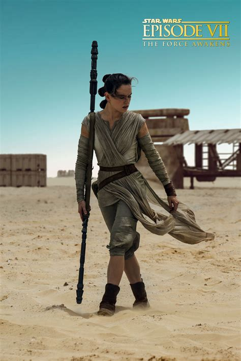 Star Wars: Episode VII The Force Awakens, Daisy Ridley