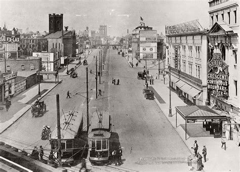 Vintage: historic B&W Streets of New York City (1900s and