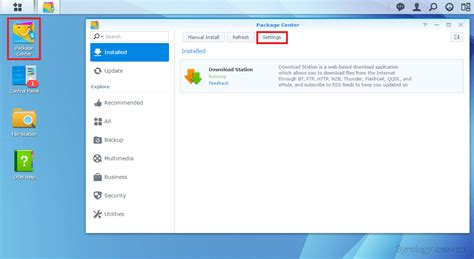 Screenshot Guide to Install SickRage on Synology NAS