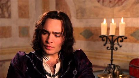 Romeo and Juliet Ed Westwick Tybalt On Set Movie Interview