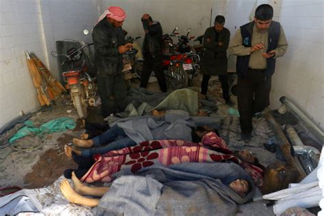 Worst Chemical Attack in Years in Syria; U