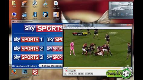 Sky sports channels in vlc player by mohamed eddami - YouTube