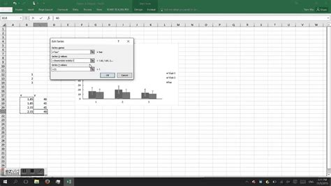 How to indicate significance in excel for APA graph - YouTube