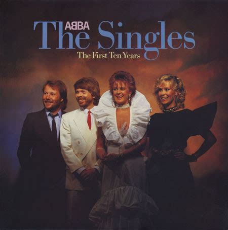 ABBA - The Singles / The First Ten Years (1982, Specialty