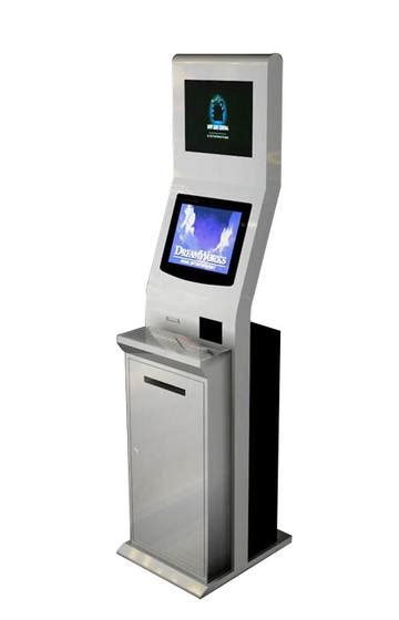 Sell Touch terminal Kiosk with A4 Printer,Vending Machine