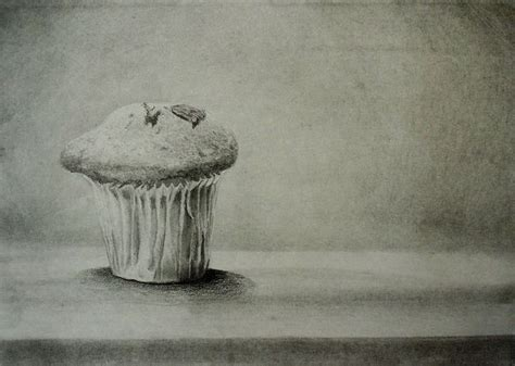 How to Draw a Cupcake in Pencil — Online Art Lessons