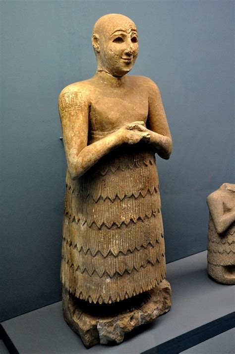 Statue of Lugal-Dalu (Illustration) - Ancient History