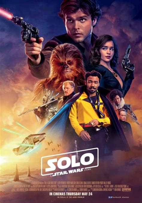 Solo: A Star Wars Story Movie Poster (#19 of 45) - IMP Awards