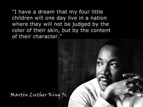The Dream of Martin Luther King, Jr