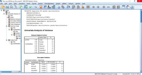 How to Run Two Way ANOVA Test in SPSS - OnlineSPSS