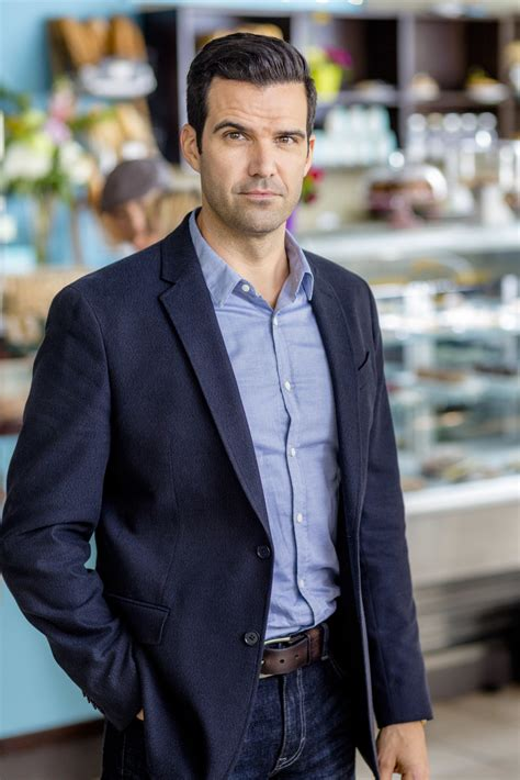 Ben Ayers as Eric on Love by Chance   Hallmark Channel
