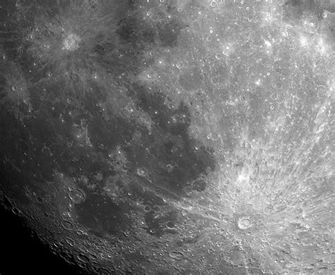APOD: 2001 August 9 - Tycho and Copernicus: Lunar Ray Craters