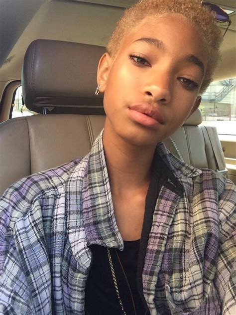 Willow Smith Ditches Her Dreads for a Short New Blonde Cut