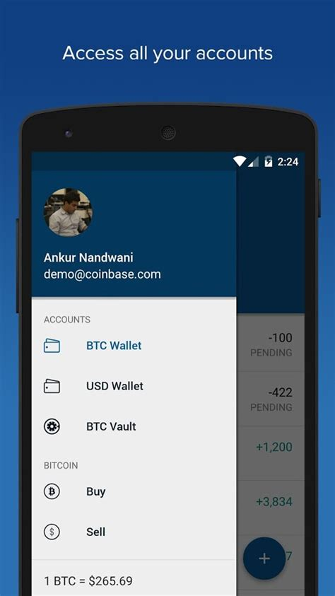 Bitcoin Wallet - Coinbase - Android Apps on Google Play