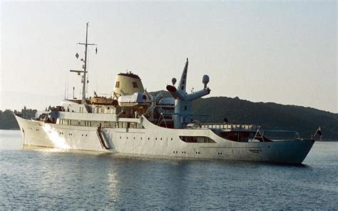 Famous party yacht Christina O goes up for sale - Telegraph