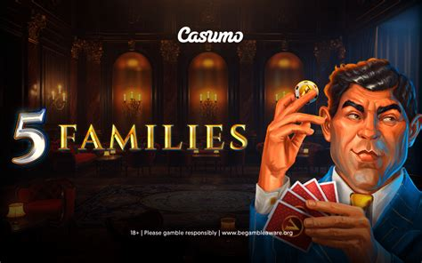 The 5 Families slot is exclusively available at Casumo
