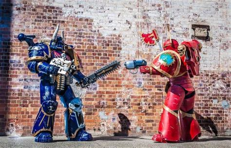 COSPLAY: 8th Edition or Bust, 40k's All Stars! - Spikey Bits