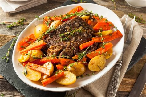 How to Cook Beef Chuck Under Blade Pot Roast | LEAFtv