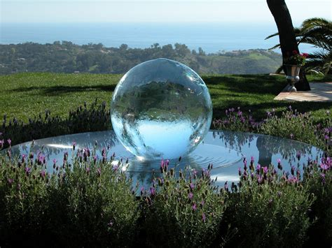 """This is a """"gazing ball"""" I would really enjoy! 
