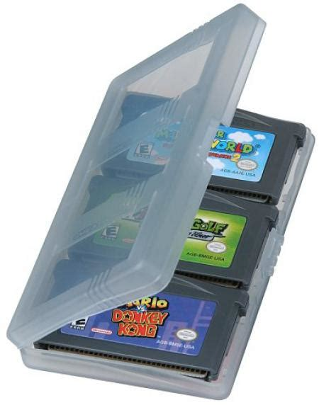 Game Boy Advance 3-pack Game Case for Gameboy Advance