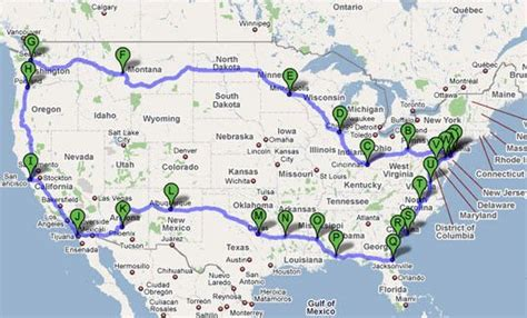 The Ultimate Cross Country Motor Home Trip Guide   Road