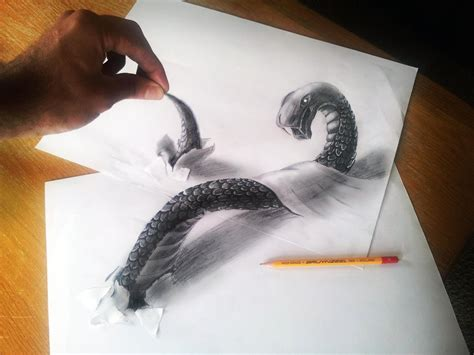 3D Illusion Drawings by Ramon Bruin | Colossal