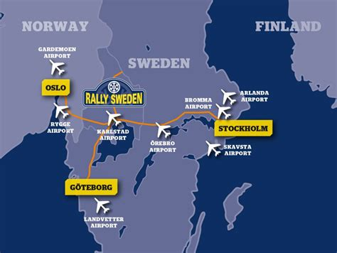 Find us | Rally Sweden