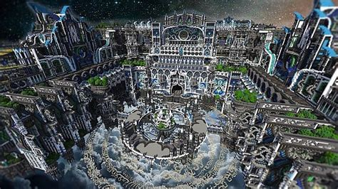 Center Of Valhalla | Flying Fortress – Minecraft Building Inc