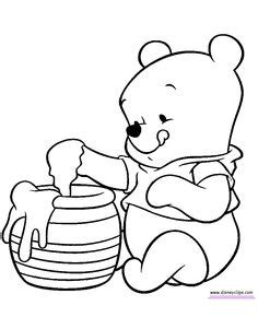 Baby Pooh Coloring Pages - Disney Winnie the Pooh, Tigger