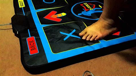 D-Force Dance Pad Deluxe feet moving video - YouTube