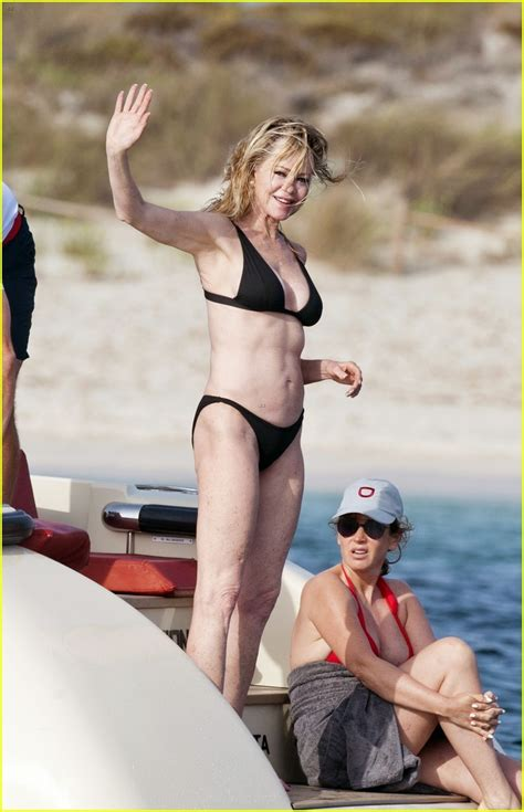 Melanie Griffith, 61, Shows Off Her Toned Physique in a