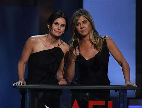 Jennifer Aniston, Courteney Cox Photographed In Cabo San