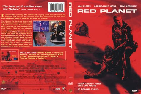 red planet - Movie DVD Scanned Covers - 211redplanet hires