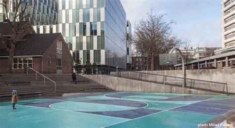 Watersquare Benthemplein is the World's First Public Water