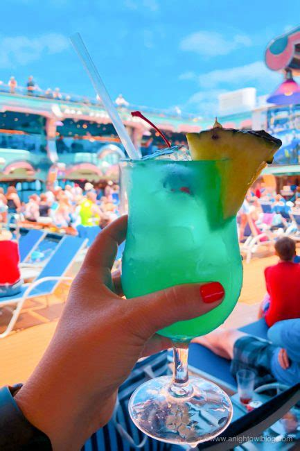 Best Drinks on Carnival Cruise Line - Drink of the Day   A