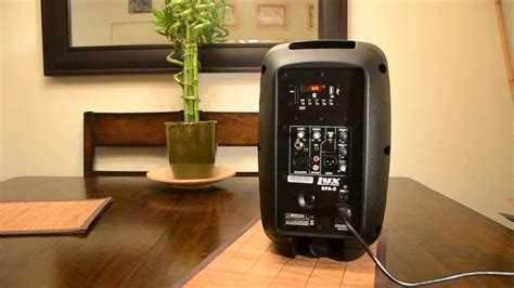 LyxPro Spa-8 Compact Portable PA Speaker System - YouTube