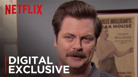 Ron Swanson's Life Lessons   Parks and Recreation