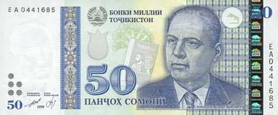 Information about national currency of Tajikistan