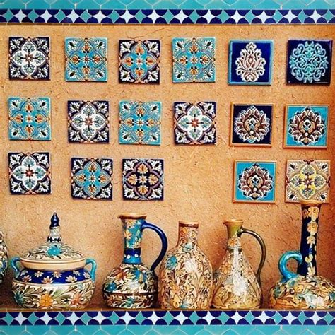 Easy on the eye is the mesmerizing art of Iran… #