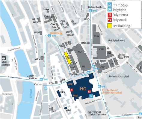 How to find us – Robotic Systems Lab   ETH Zurich